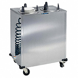 Plate Dispenser Cart, SS, 32x18-1/2x39-7/8