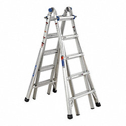 Multipurpose Ladder, 22 ft., Aluminum