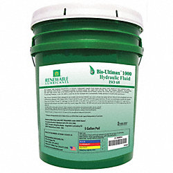 Hydraulic Oil, Bio, Ultimax 1000, 5 Gal, 68