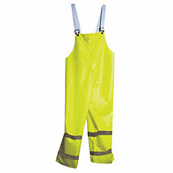 Arc Flash Rain Pants, M, HiVis Yellow