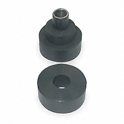 Vibration Isolator, 2 Pc, 200 Lb Axial Cap