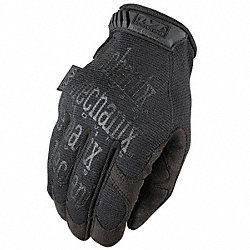 Mechanics Gloves, M, Black, Smooth Palm, PR