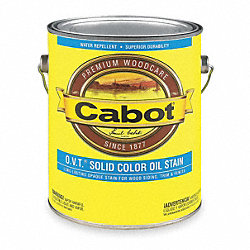 SolidColor Oil StainBarn Red, Flat, 1gal