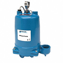 Effluent Pump, 1/2 HP, 115V, Phase 1