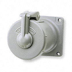 Pin & Sleeve Receptacle, 3W, 3P, 100A