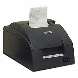 Dot Matrix Printer, ABS, 6-1/4 In L