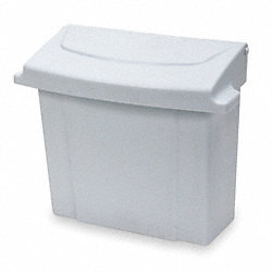 Sanitary Napkin Receptacle, White