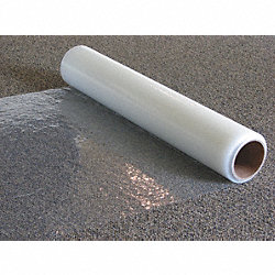 Carpet Film, Width 36 In, Length 500 Ft