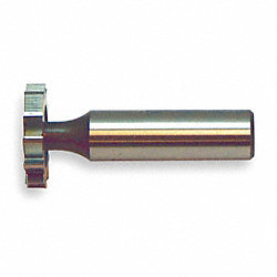 Keyseat Cutter, HSS, 1 1/2 In, #1212, STR