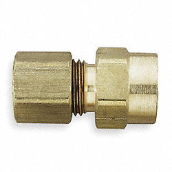Female Connector, 3/8 In, Tube x FNPT, PK10