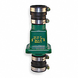 Check Valve, 1-1/4 or 1-1/2 In, Slip, PVC