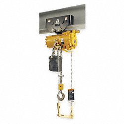Air Chain Hoist, 550 lb. Cap., 10 ft. Lift