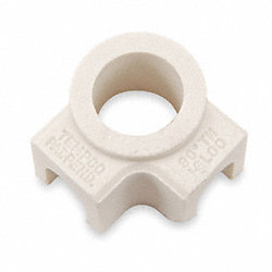 Ceramic Terminal Covers, 2 Ports 90D, PK10