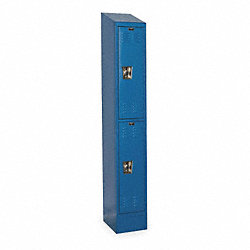 Assembled Locker, W12, D18, H84, Marine Blue