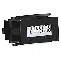 Counter, Electronic, 8 Digit, 20-300 VAC/DC