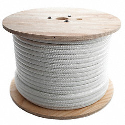 Rope, PES, Braided, 3/8 In. dia., 600 ft. L