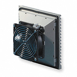 Axial Fan, 115VAC, 5-5/6In H, 5-5/6In W