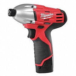 Cordless Impact Driver Kit, 12V, 1/4 In.