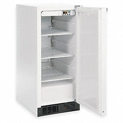 Refrigerator, 115 V, Digital, Solid Door