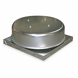 Gravity Roof Vent, 19 In Sq Base, 312 CFM