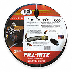 Fuel Hose, 3/4 In NPT Inlet/Outlet