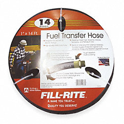Fuel Hose, 1 In NPT Inlet/Outlet