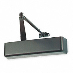Hydraulic Door Closer, Bronze, Med Duty