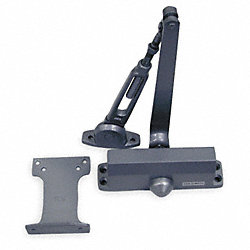 Hydraulic Door Closer, Alum, Non Handed