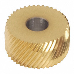 Knurl Wheel, Med, ACD25R, Diamond, HSS, TiN
