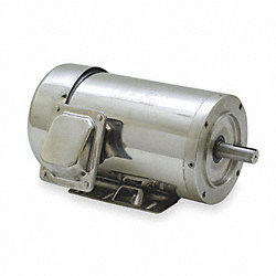 Washdown Motor, 3 Ph, TEFC, 5 HP, 3525 rpm