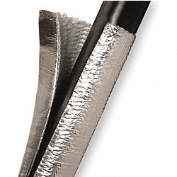Sleeving, 3/4 In Wrap Aluminized, 4 Ft