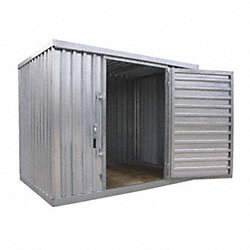 Outdoor Storage Building, Single Depth