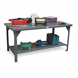 Workbench, 72W x 36D x 29-3/8to36-7/8In H