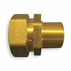 Male Fitting, Tube Size 3/4In, Pk 6