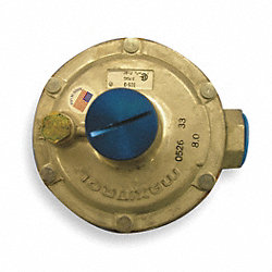 Line Regulator, Nat Gas, Tube Size 3/4In