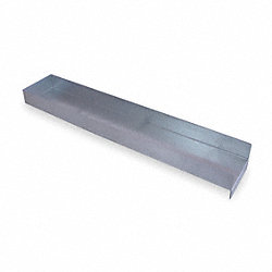 Shelf Divider, 2 In. H, 5 In. W, 27 In. D
