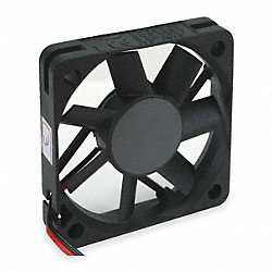 Axial Fan, 5VDC, 2-3/8In H, 2-3/8In W