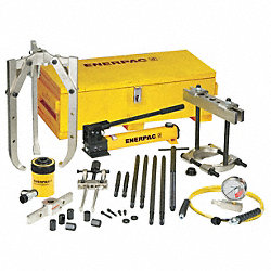 Hydraulic Puller Set, 20 Ton Cap, 11 PC