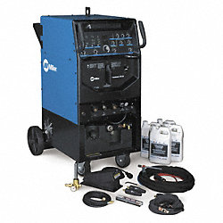 TIG/Stick Welder, 1 Phase, 3-310 A, 80 OCV