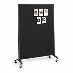 Divider Panel, Dry-Erase/Fabric, 72x48 In