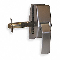 Push/Pull Latch, Chrome, Backset 5 In