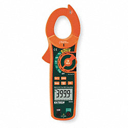 Digital Clamp On Ammeter, 600A, 60 MOhms