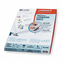 Laminating Sheets, 12x9in, PK50