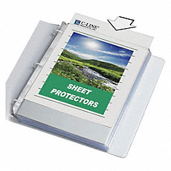 Sheet Protector, Biodegradable, PK50
