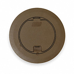 Floor Box Cover And Carpet Plate, Brown