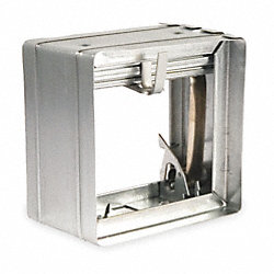 Square Fire Damper, 7-3/4 In. W, 165 Deg F