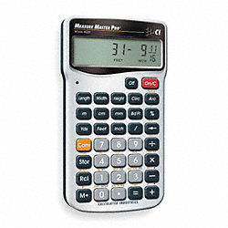 Calculator, Construction, 5.5x0.5x2.9