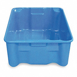 Stacking/Nesting Container, HD, Blue