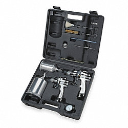HVLP Spray Gun Kit, Gravity