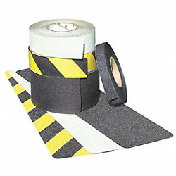 Antislip Tape, Black/Ylw Stripes, 6Inx60ft
